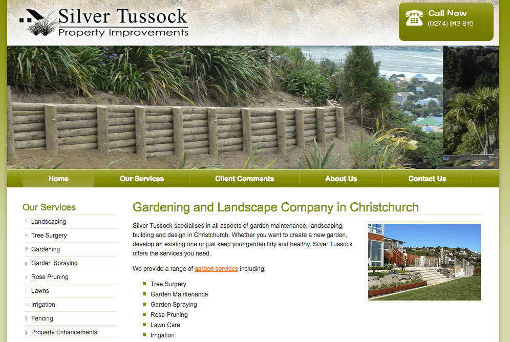 Silver Tussock's Homepage