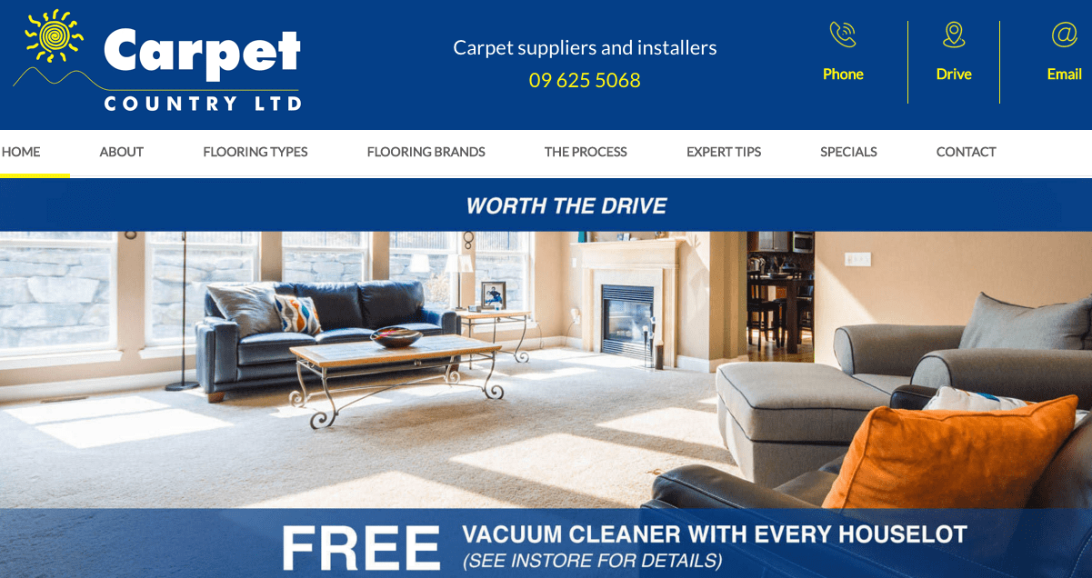 Carpet Country Ltd's Homepage