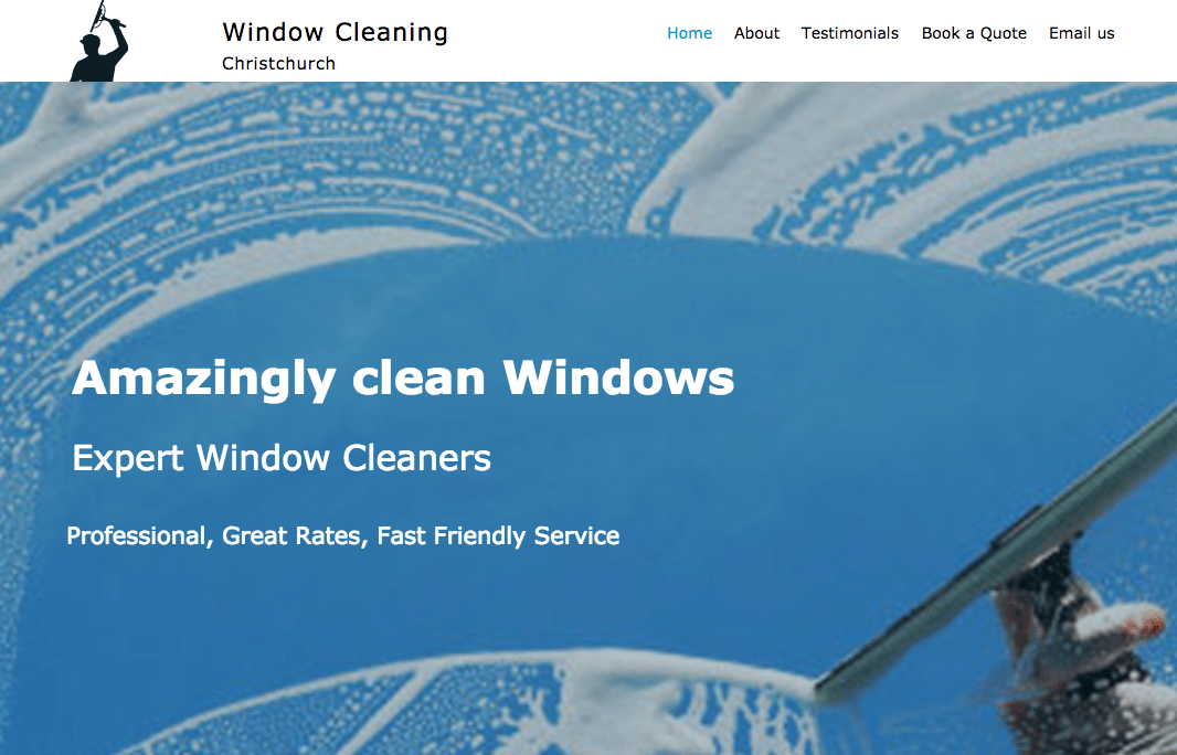 Window Cleaning Christchurch's Homepage