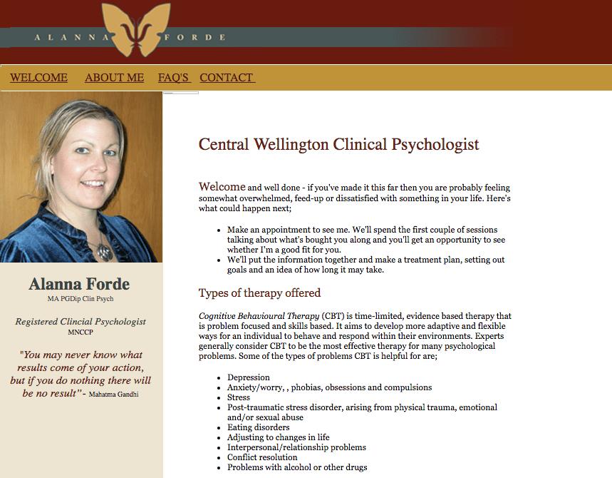 Alanna Forde's Homepage
