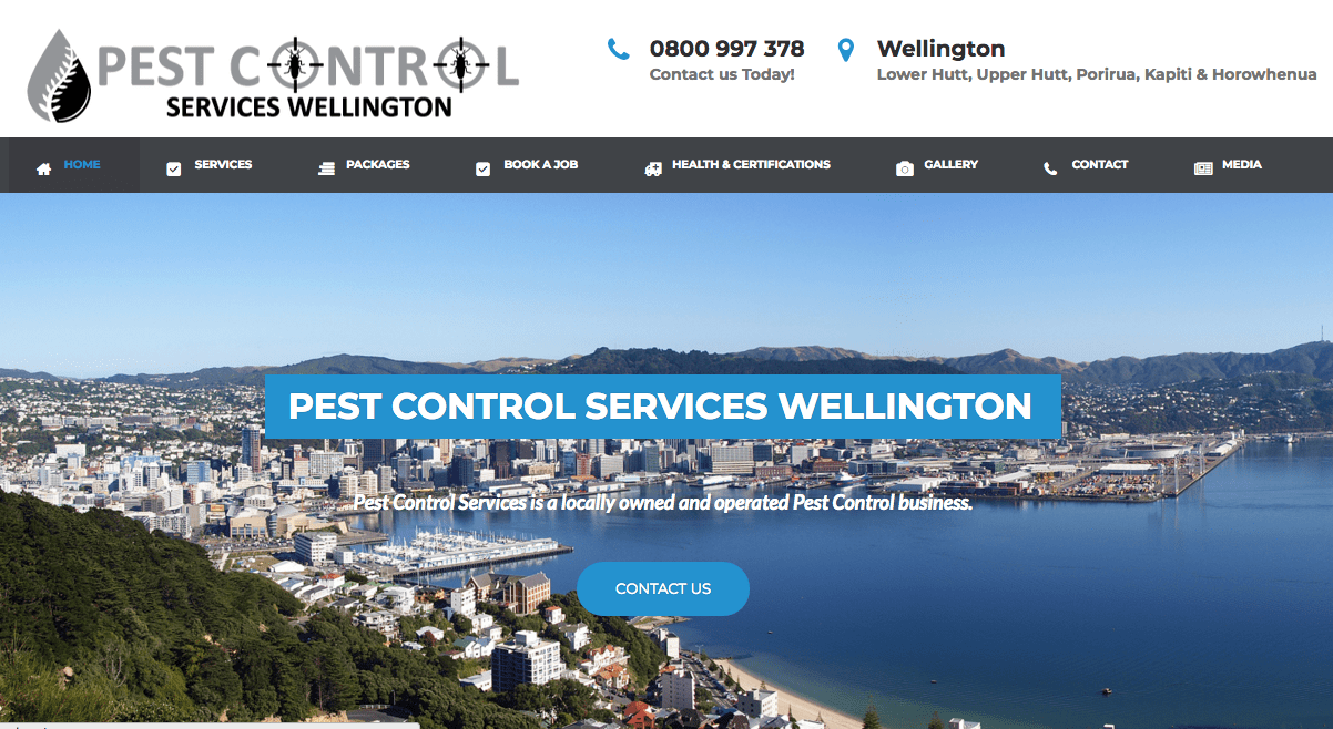 Pest Control Services Wellington's Homepage