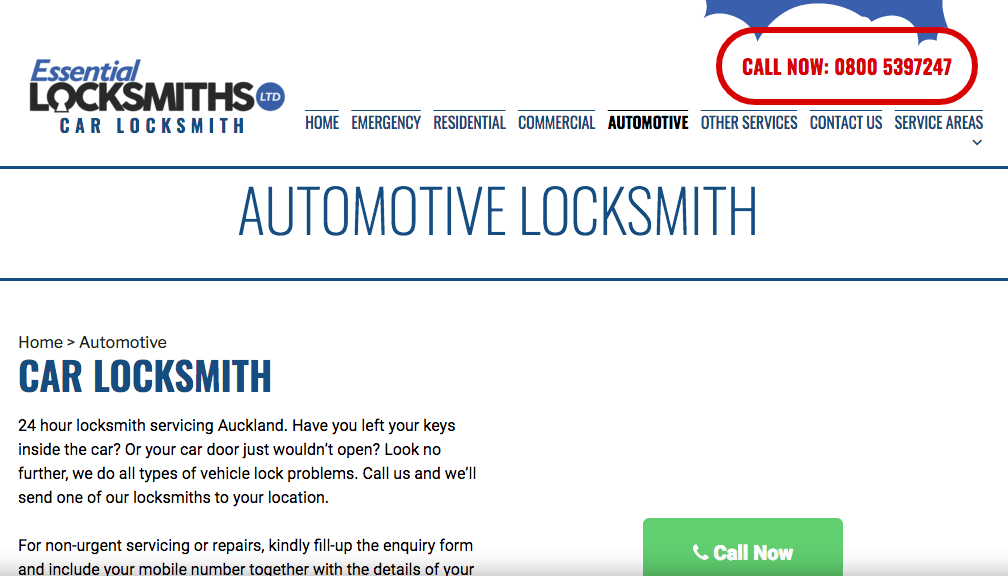 Essential Locksmiths' Homepage