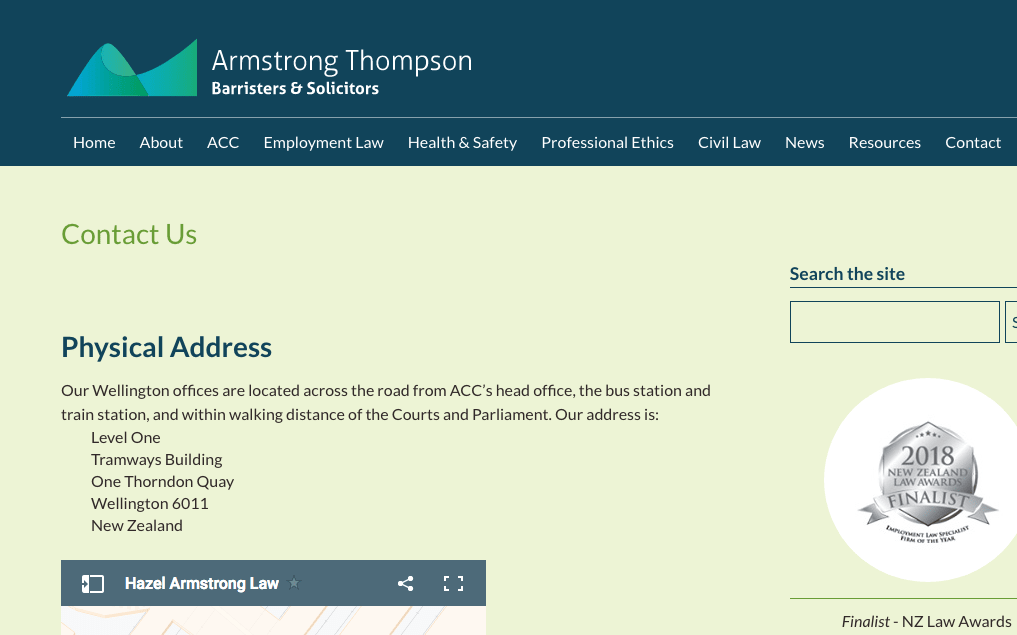 Armstrong Thompson's Homepage