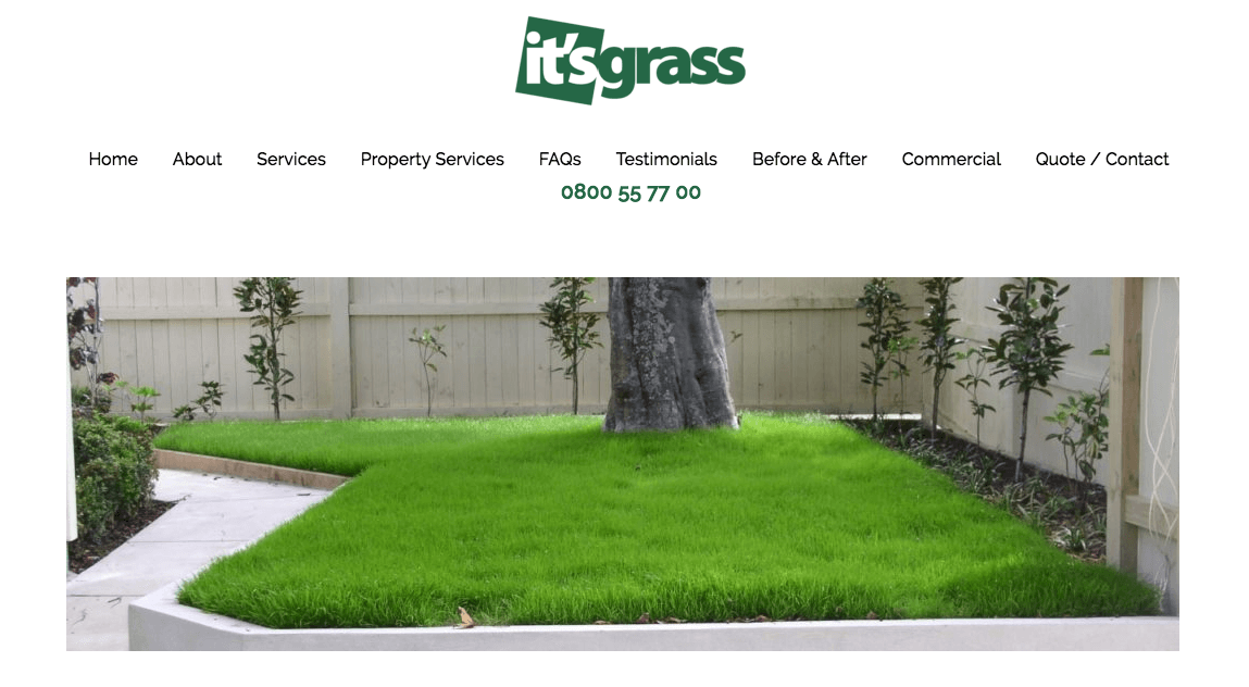 It's Grass' Homepage