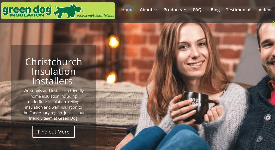 Green Dog Insulation's Homepage