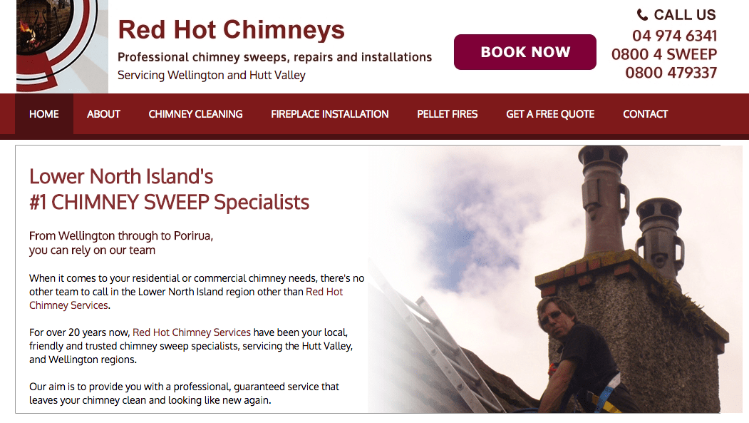 Red Hot Chimneys' Homepage