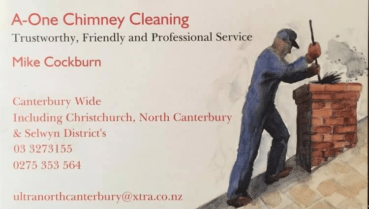 A-One Chimney Cleaning's Homepage