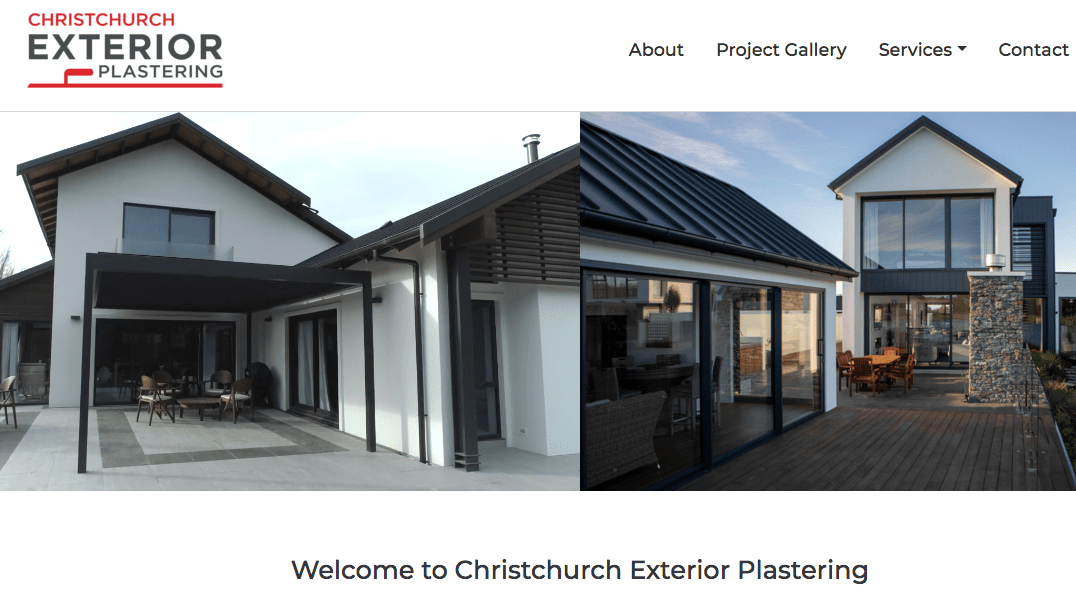 Christchurch Exterior Plastering's Homepage