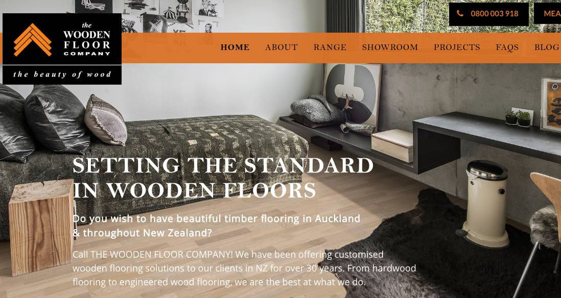 The Wooden Floor Company's Homepage