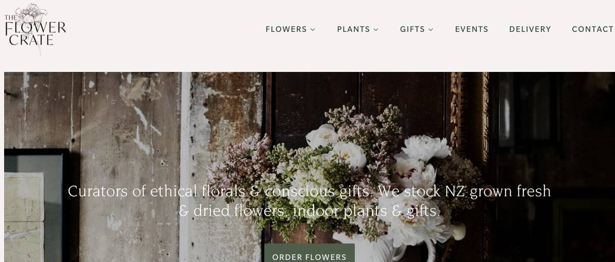 The Flower Crate's Homepage