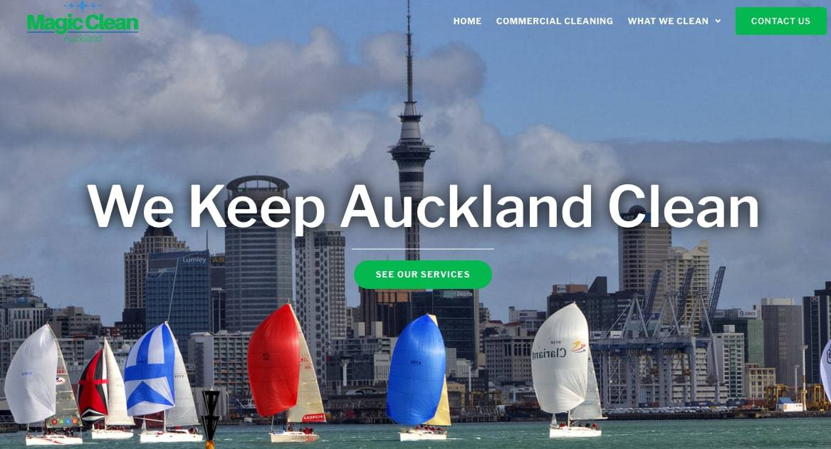 Magic Clean Auckland Ltd's Homepage