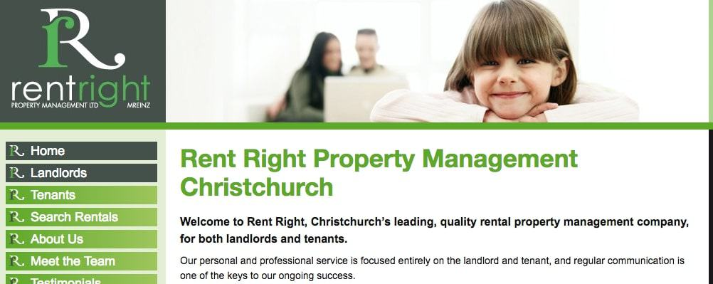 Rent Right Property Management Ltd's Homepage