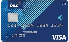BNZ Lite Visa Card