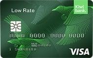 Kiwibank Low Rate Visa's Card