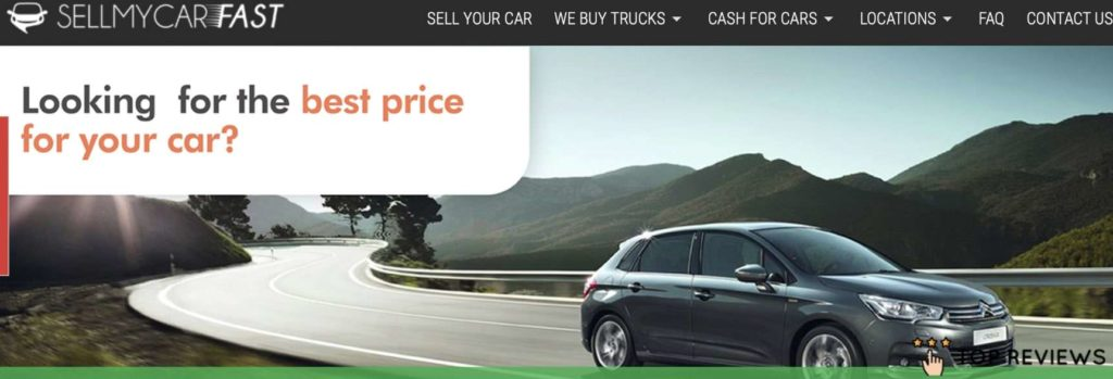 Sell My Car Fast's Homepage