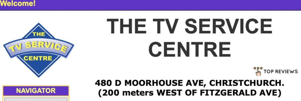 The TV Service Centre's Homepage